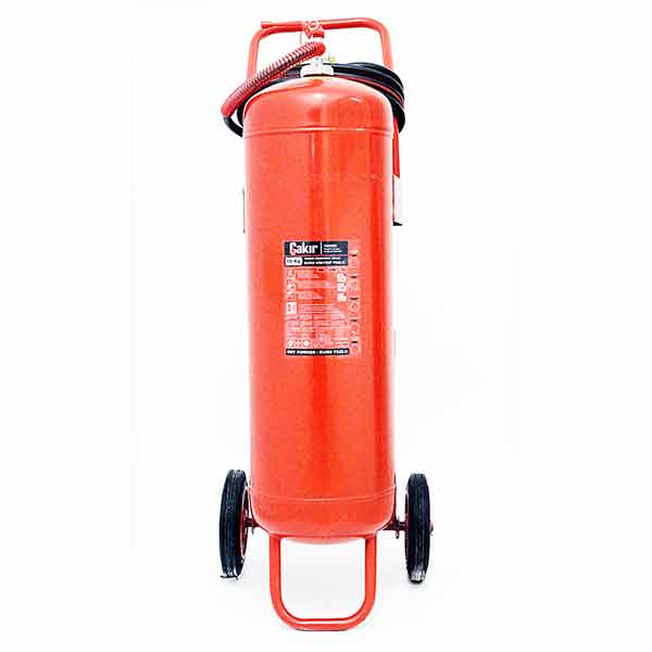 100 Kg Type ABC Dry Chemical Powder Extinguisher