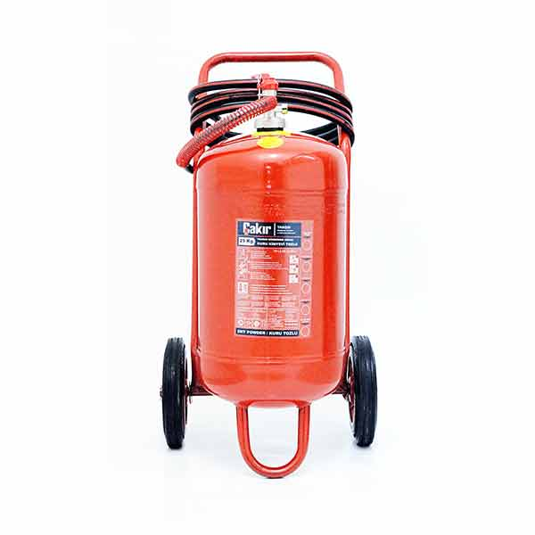 25 Kg Type ABC Dry Chemical Powder Extinguisher