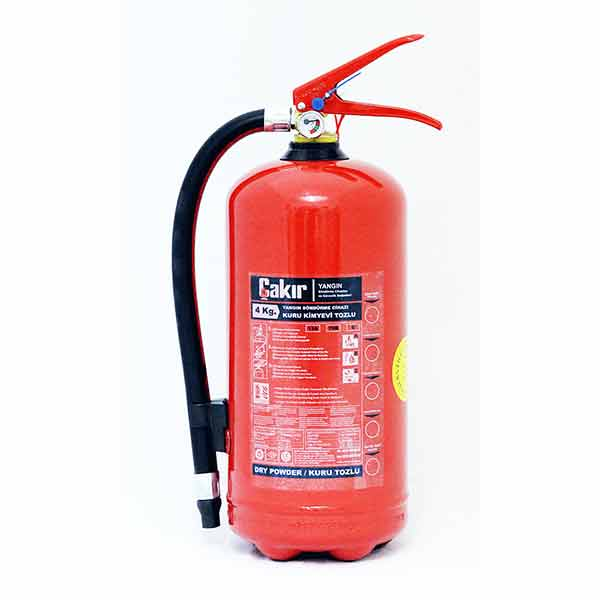 4 Kg Type ABC Dry Chemical Powder Extinguisher