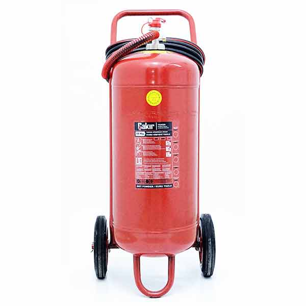 50 Kg Type ABC Dry Chemical Powder Extinguisher